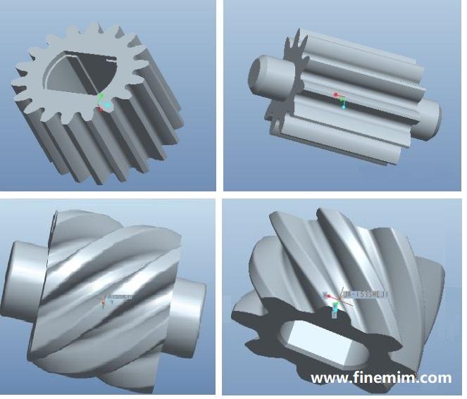 MIM Micro Gears