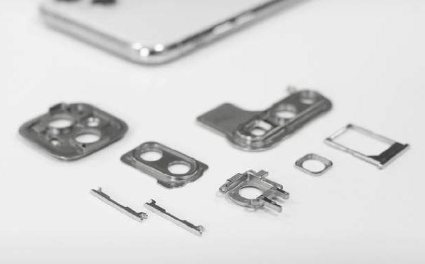 MIM smartphone components