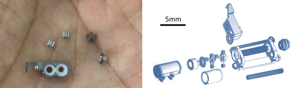 micro-gear reduction module